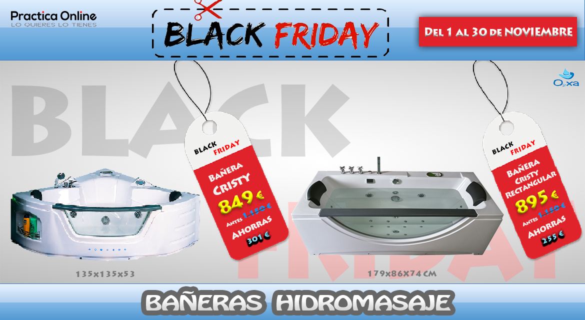 Black Friday Bañeras 2018