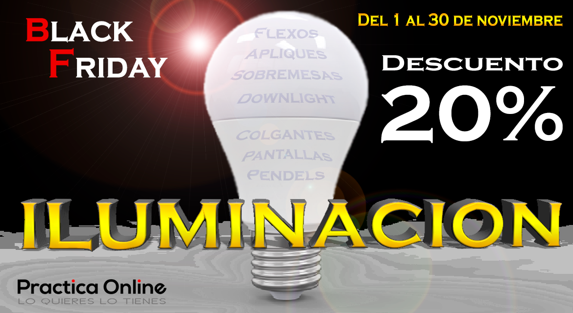 Black Friday Iluminacion